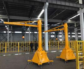 125kg移动式悬bi起重机